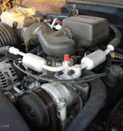 1997 chevrolet suburban c1500 ls 5 7 liter ohv 16 valve vortec v81997 chevrolet suburban c1500 [ 1024 x 768 Pixel ]