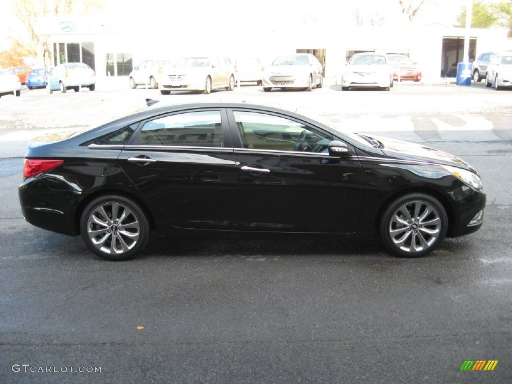 2013 Hyundai Sonata Limited Black