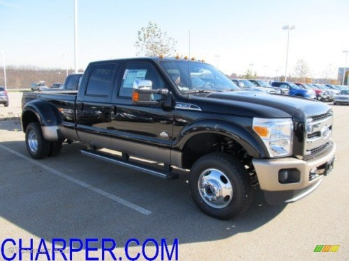 small resolution of 2012 f350 super duty king ranch crew cab 4x4 dually black chaparral leather photo
