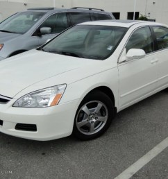 2006 accord hybrid sedan premium white pearl ivory photo 1 [ 1024 x 768 Pixel ]