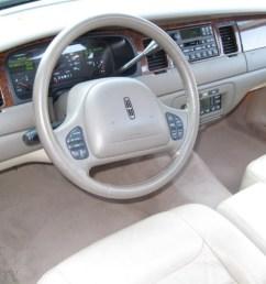 1999 lincoln town car signature light graphite dashboard photo 56614847 [ 1024 x 768 Pixel ]