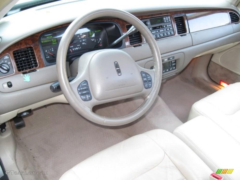 medium resolution of 1999 lincoln town car signature light graphite dashboard photo 56614847