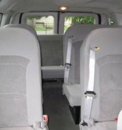 medium flint grey interior 2006 ford e series van e350 xlt 15 passenger photo 56637339 [ 1024 x 768 Pixel ]