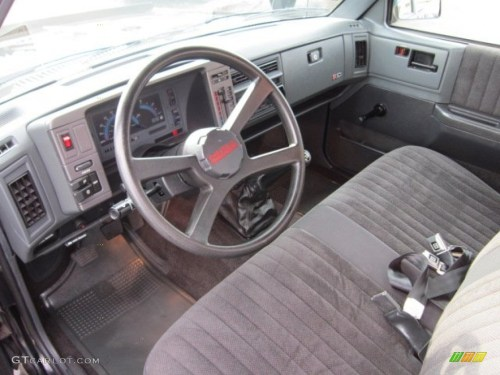 small resolution of gray interior 1993 chevrolet s10 regular cab photo 56691113
