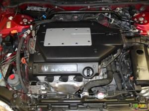 2001 Acura TL 32 32 Liter SOHC 24Valve VTEC V6 Engine