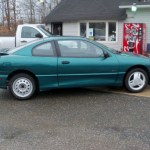 1998 Medium Sea Green Metallic Pontiac Sunfire Gt Coupe 57486535 Photo 7 Gtcarlot Com Car Color Galleries