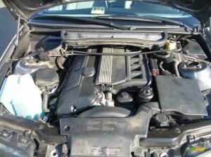 2001 BMW 3 Series 325i Sedan 25L DOHC 24V Inline 6