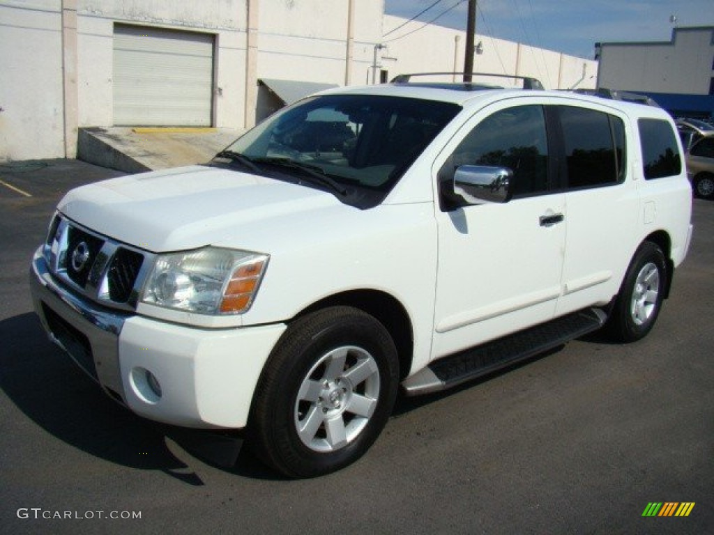 hight resolution of blizzard white nissan armada nissan armada le