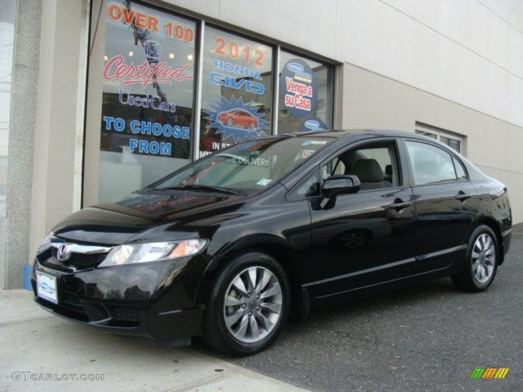 Honda Civic Crystal Black Pearl