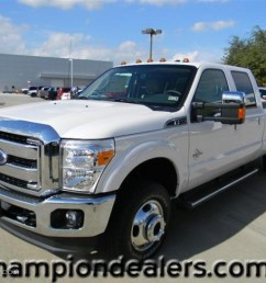 2012 f350 super duty lariat crew cab 4x4 dually white platinum metallic tri coat [ 1024 x 768 Pixel ]