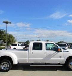 white platinum metallic tri coat 2012 ford f350 super duty lariat crew cab 4x4 dually exterior photo 58153262 [ 1024 x 768 Pixel ]