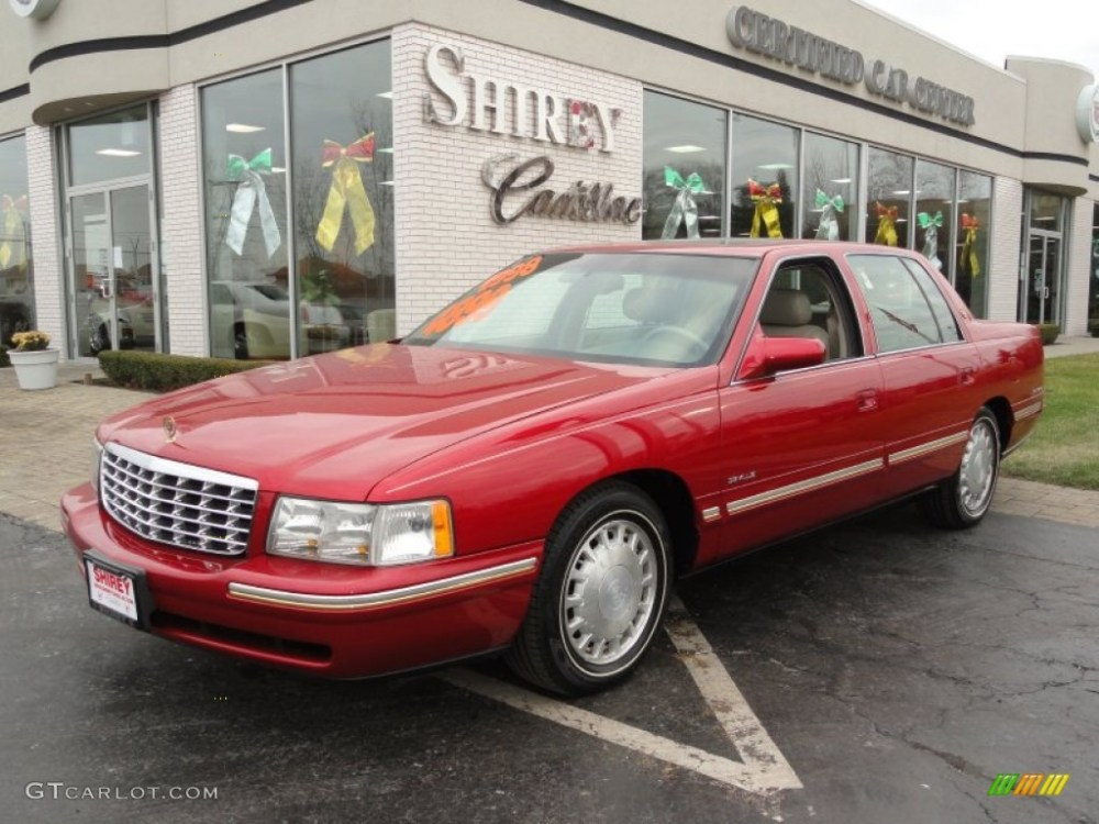 medium resolution of red pearl cadillac deville cadillac deville d elegance