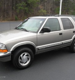 1999 blazer lt 4x4 light pewter metallic beige photo 1 [ 1024 x 768 Pixel ]