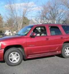 garnet red metallic 2001 gmc yukon denali awd exterior photo 58569954 [ 1024 x 768 Pixel ]