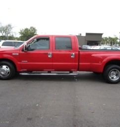 2006 f350 super duty lariat crew cab dually red clearcoat tan photo 8 [ 1024 x 768 Pixel ]