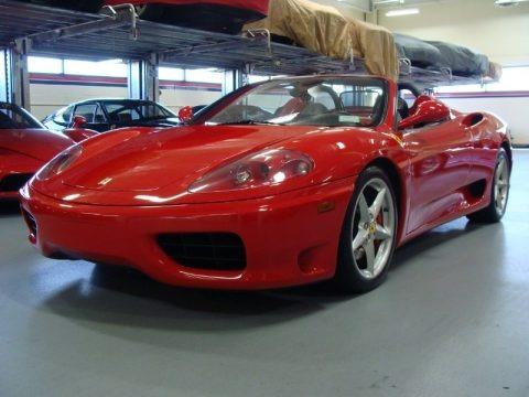 2003 Ferrari 360 Spider F1 Data Info And Specs