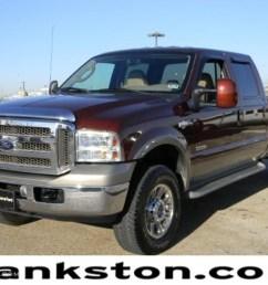 2006 f350 super duty king ranch crew cab 4x4 dark toreador red metallic castano [ 1024 x 768 Pixel ]