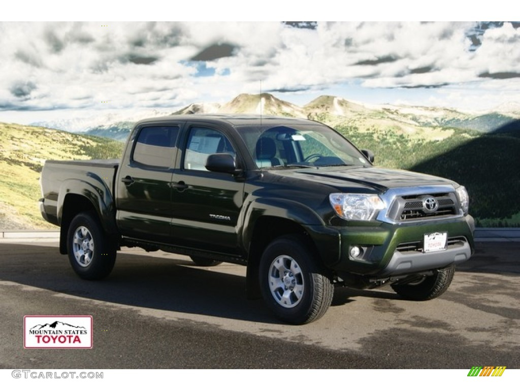4x4 Red Toyota 2014 Tacoma