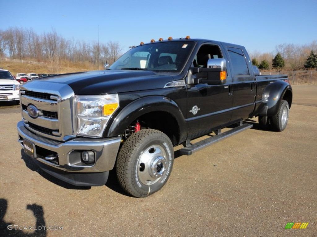 hight resolution of 2012 f350 super duty lariat crew cab 4x4 dually tuxedo black metallic black photo