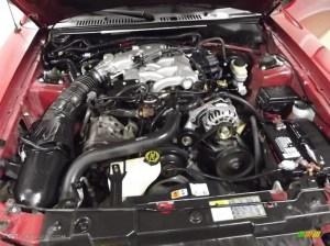 2002 Ford Mustang V6 Coupe 38 Liter OHV 12Valve V6 Engine Photo #59753133 | GTCarLot