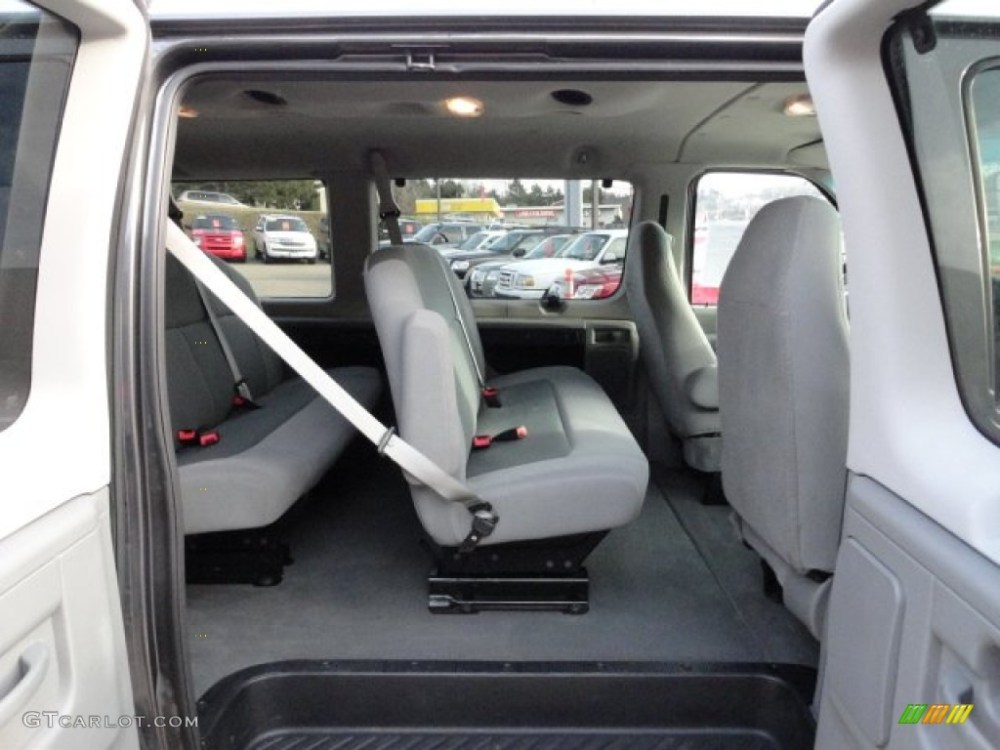 medium resolution of medium flint interior 2008 ford e series van e350 super duty xlt passenger photo 60396104