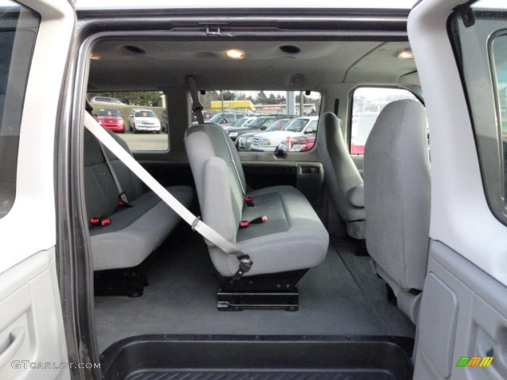 hight resolution of medium flint interior 2008 ford e series van e350 super duty xlt passenger photo 60396104