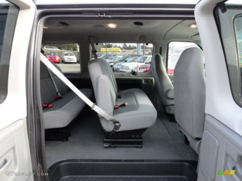 small resolution of medium flint interior 2008 ford e series van e350 super duty xlt passenger photo 60396104
