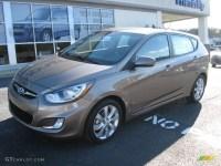 2012 Mocha Bronze Hyundai Accent SE 5 Door #60561427 Photo ...