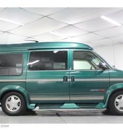 dark forest green metallic 2000 chevrolet astro awd passenger conversion van exterior photo 60702382 [ 1024 x 768 Pixel ]