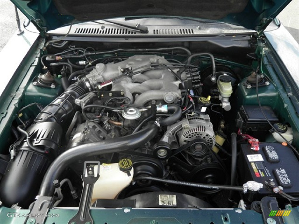 2004 ford mustang engine diagram pit bike wiring kick start 3 8 parts auto catalog