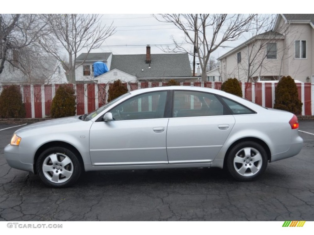 medium resolution of light silver metallic 2001 audi a6 2 7t quattro sedan exterior photo 61703370