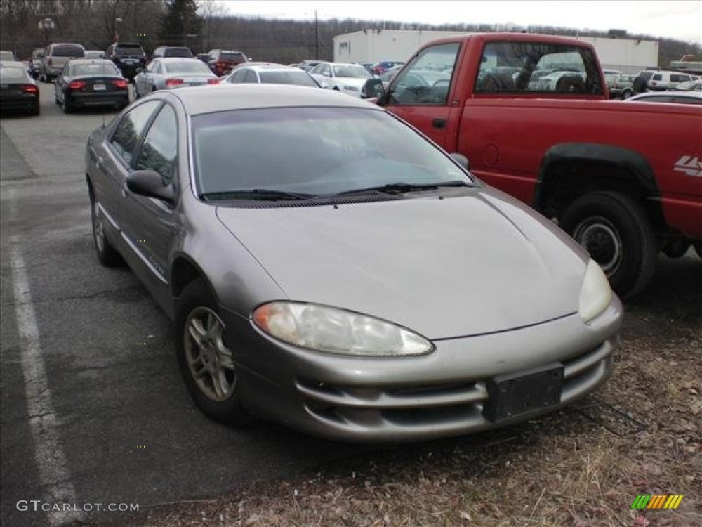 medium resolution of 1999 bright platinum metallic dodge intrepid 61833482
