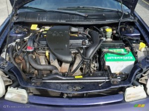 1998 Dodge Neon Highline Coupe 20 Liter SOHC 16Valve 4