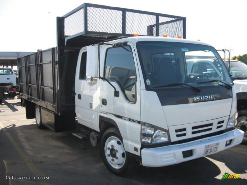 medium resolution of white isuzu n series truck isuzu n series truck nqr crew cab