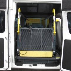 Wheelchair Van Parts Executive Revolving Chair Price In India 2008 Ford E Series E250 Super Duty Wheechair Access