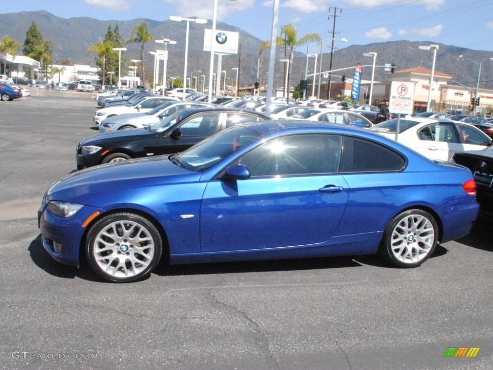 medium resolution of montego blue metallic 2009 bmw 3 series 328i coupe exterior photo 62636099