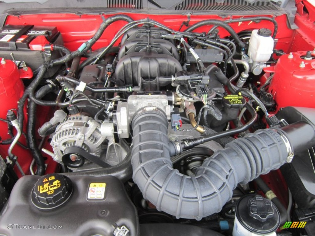 2010 Ford Mustang Engine Diagram