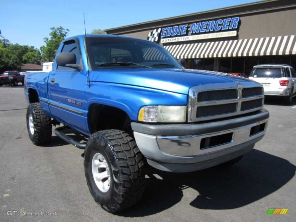 medium resolution of intense blue pearl dodge ram 1500