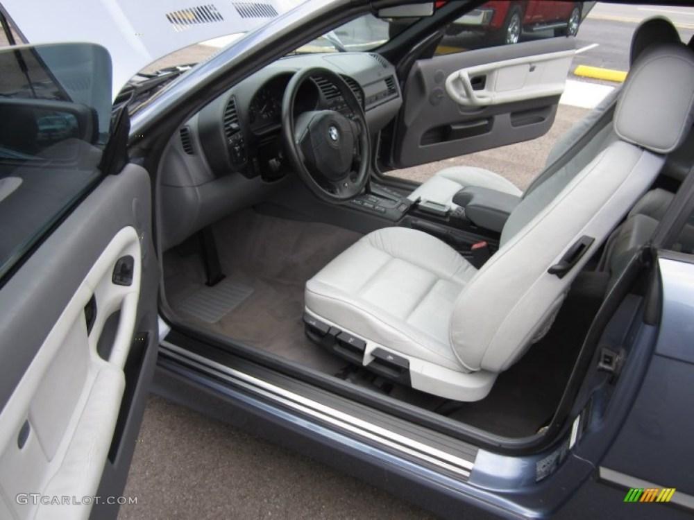 medium resolution of grey interior 1999 bmw 3 series 323i convertible photo 64675428