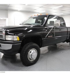 black 1997 dodge ram 3500 laramie extended cab 4x4 dually exterior photo 65296136 [ 1024 x 768 Pixel ]