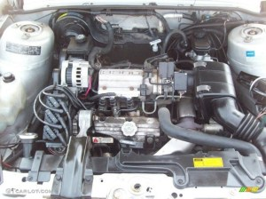1993 Oldsmobile Cutlass Ciera SL Sedan Engine Photos
