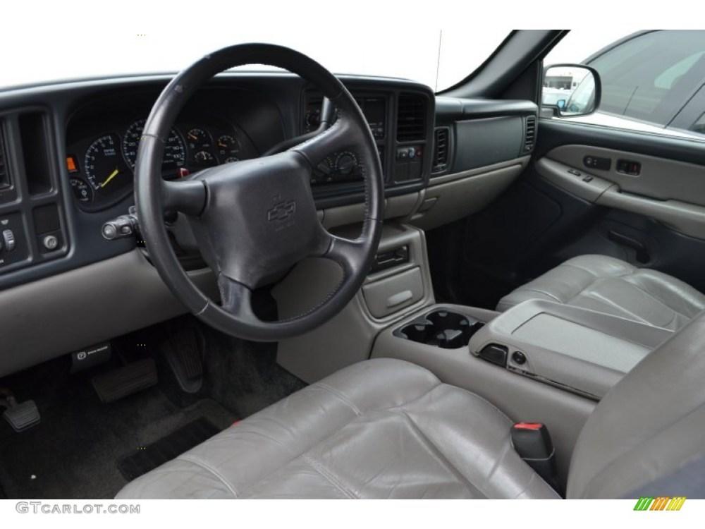 medium resolution of graphite interior 2001 chevrolet suburban 2500 lt photo 66001461