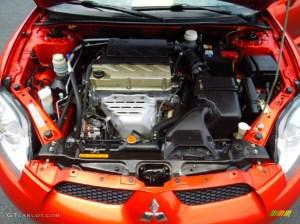 2008 Mitsubishi Eclipse GS Coupe 24L SOHC 16V MIVEC