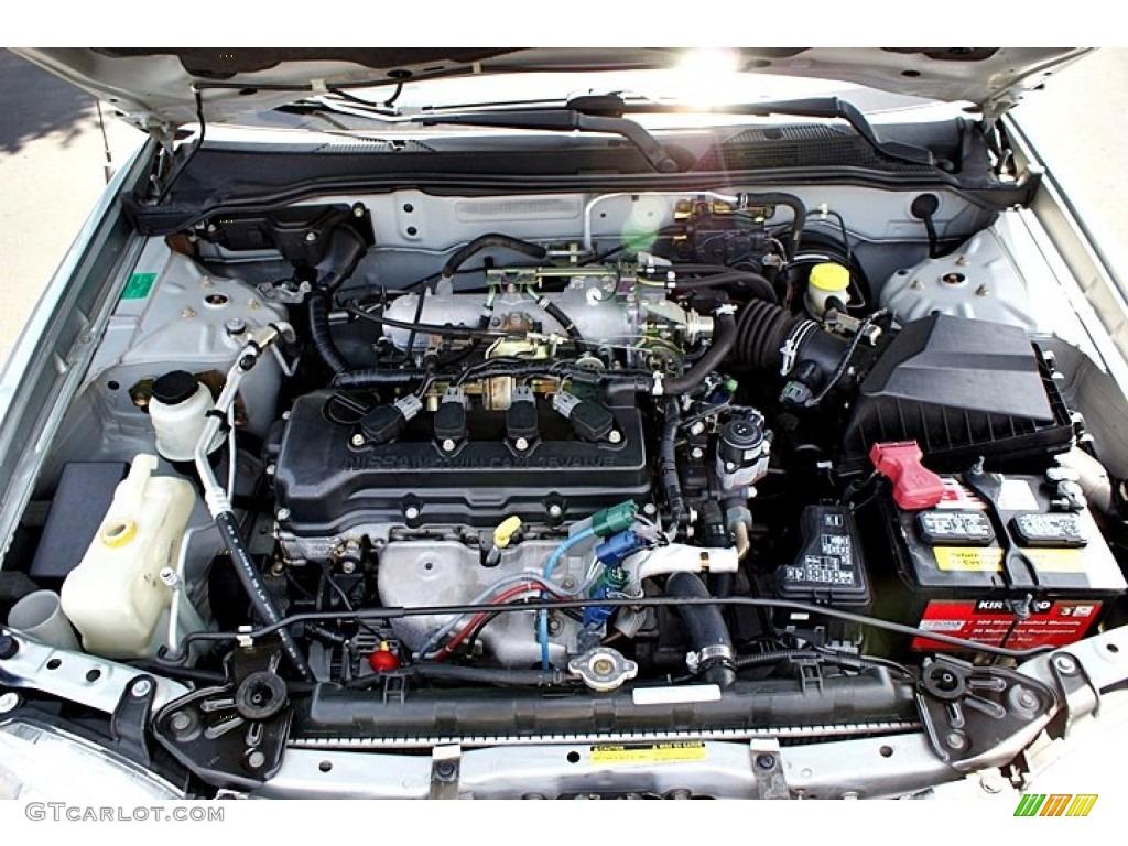 2002 Nissan Sentra Gxe Engine