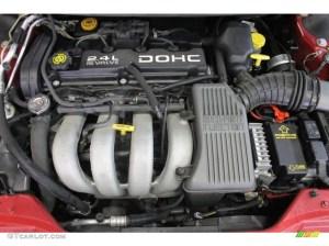 1996 Dodge Stratus Standard Stratus Model 24 Liter DOHC