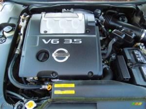 2005 Nissan Maxima 35 SE 35 Liter DOHC 24 Valve V6