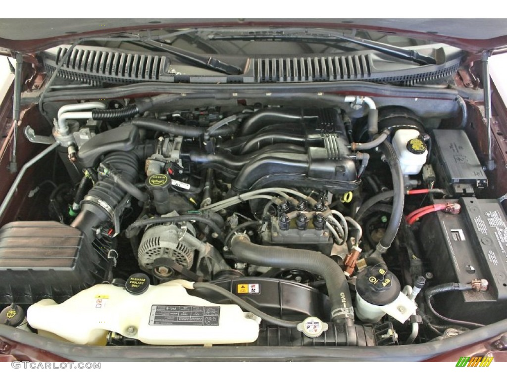 hight resolution of 2006 ford explorer eddie bauer 4x4 4 0 liter sohc 12 valve v6 engine photo 67478719