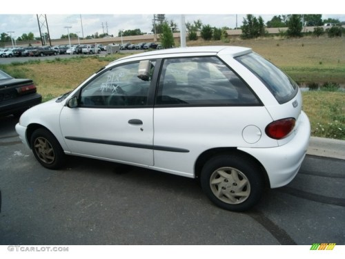 small resolution of 2000 metro lsi coupe white gray photo 3