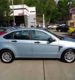 light ice blue metallic 2008 ford focus se sedan exterior photo 67750271 [ 1024 x 768 Pixel ]