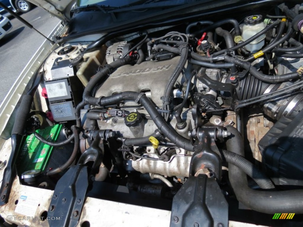 hight resolution of 2001 chevrolet impala standard impala model 3 4 liter ohv 12 valve v6 engine photo